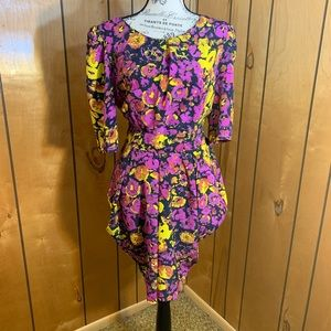 ASOS mini vibrant floral dress
